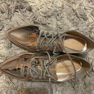 Gianni Bini  Silver Shoes